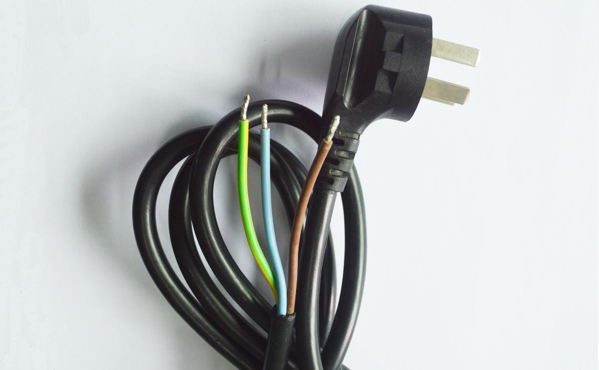 CCC国标2C+D电源线(半成品)